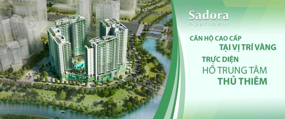 Cần bán căn hộ Sadora KĐT Sala, 82.5m2, 2PN, giá tốt 3,8 tỷ, view hồ bơi nội khu. 0909.038.909 282139