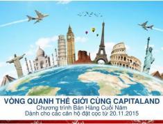 Du lịch 5 châu cùng Capitaland và tham dự Gala tri ân quốc tế -0933.520.896