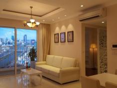 Cho thuê căn hộ Icon 56 quận 4, 88 m2, 3 phòng ngủ, 2WC, giá 1450 USD/tháng, không bao phí quản lý.