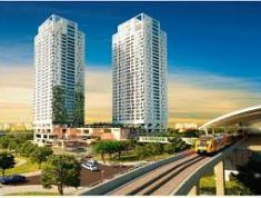 Cho thuê CHCC Thảo Điền Pearl, ở cầu Sài Gòn, Q.2, DT: 95 m2, 2PN, có nội thất, giá 20.14 tr/tháng