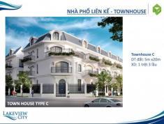 Mở bán khu nhà phố, biệt thự cao cấp Lakeview City liền kề trung tâm hành chính Thủ Thiêm