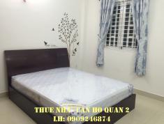Cho thuê phòng ở cao cấp Quận 2 gần cầu Sài Gòn sau Metro, full NT giá 5~6,5 tr/tháng