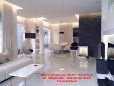 Bán villa đường 12m, cách Trần Não 100m, 7.5x20m, 2 lầu, nhà đẹp-mới, 12 tỷ. LH: 0906.997.966