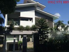 Cho thuê villa đường Song Hành, An Phú 7,5x20m, 120 tr/th trệt 1 lầu, có sân vườn, hồ bơi