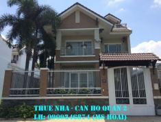Cho thuê villa P. Thảo Điền, DT 160m2, trệt, 2 lầu, ST, hồ bơi, 5PN, giá 38tr/th. LH 0909246874