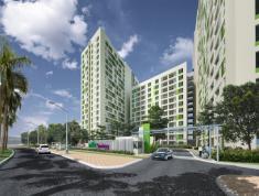 Cho thuê căn hộ ParcSpring DT 69m2, 2PN, giá 7tr/th