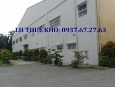 Cho thuê kho 100, 200, 3000 m2... Tại KCN Cát Lái, gần đường Nguyễn Thị Định - 0937672763