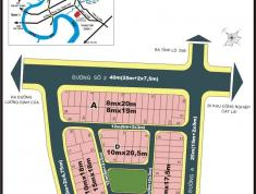 Bán đất nền dự án Hà Đô, Thạnh Mỹ Lợi, lốc A (8m x 19m), 40 triệu/m2, chính chủ