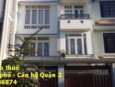 Cho thuê biệt thự 280 Lương Định Của, 2 lầu 4PN, giá 40tr/th. LH: 0909 246 874