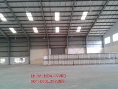 Cho thuê kho chứa hàng tại KCN Sóng Thần 1 và 2. LH 0901297009