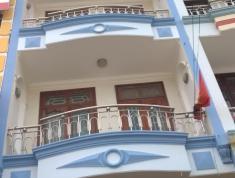 Cho thuê nhà MT đường số 19 khu hải quân Trần Não, Bình An, Quận 2