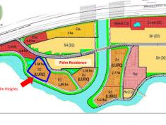 Bán căn hộ PALM HEIGHT Q2. Căn 2Pn - 3PN Giá từ 2,8ty -2.9ty. View Nội khu, View Sông, Căn góc