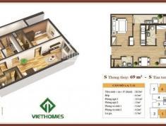 Cần bán căn góc hướng Đông Nam CC 283 Khương Trung, giá CĐT, nội thất cơ bản. lh 0934.542.259