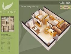 Cần bán 1507 Thăng Long Victory, 69.8m2 , nội thất vào ở ngay. Lh 0981 017 215.