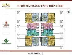 Chính chủ bán căn hộ 3 ngủ chung cư 283 Khương Trung, S=87m2, giá 25tr/m2. 0934.542.259.