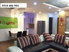 Cho thuê căn hộ chung cư An Khang khu An Phú An Khánh, Quận 2. DT 106m2,3 phòng, nội thất, 15tr/th