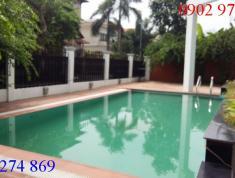 Cho thuê villa sang trọng đường 23, P.Bình An, Q2. Giá 105 triệu/th