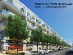 Hàng độc, bán nhà phố thương mại Sari Town, DTSD 560m2, hầm trệt 3 lầu áp mái. 0933786268 Mr Sinh
