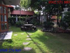 Cho thuê villa đường Võ Trường Toản, P.Thảo Điền, Q2. Giá 52.5 triệu/th