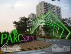 Cho thuê căn hộ PARCSpring, căn góc, full nội thất, lầu 8, giá 10 triệu/tháng