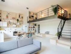 Cho thuê căn hộ mới 2PN, đầy đủ tiện nghi, có gác lửng, Q2