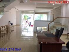 Cho thuê nhà mặt đường Nguyễn Hoàng, P An Phú Q2 giá 60 triệu/ 1 tháng, nhà có hầm