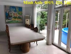 Cho thuê villa Quốc Hương, 4PN, đủ nội thất, giá 50 triệu/th
