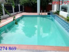 Cho thuê villa đường Nguyễn Văn Hưởng, P.Thảo Điền, Q2, có hồ bơi, sân vườn