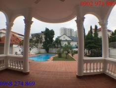 Cho thuê biệt thự đường 55, P.Thảo Điền, Q2. DT 1000m2