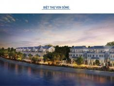 Cho thuê nhà phố view hồ dự án Lakeview City quận 2, DT 93m2, 20 tr/tháng