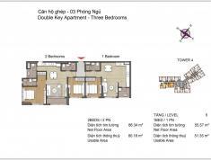 Bán căn hộ Dual Key Đảo Kim Cương, tháp Bora Bora, 142m2, lầu 21, view sông SG, Q.7, giá 47 tr/m2