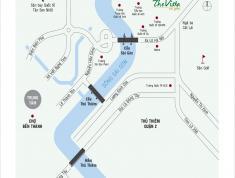 Cần tiền bán căn Vista Verde, 2pn, 99m2, 3.3 tỷ, view sông, hướng mát, căn góc. LH 0909 182 993