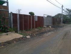 Định cư bán nhanh kho xưởng 1225m2 mặt tiền Trần Não, ngang 40m, nở hậu, tường bao kiên cố