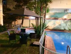 Cho thuê villa Thảo Điền sân vườn hồ bơi, 4PN, nội thất cơ bản, giá 84 triệu/th