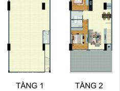 Bán chung cư Bộ Công An Q2, căn shop, block B, 203m2, giá 7.8 tỷ