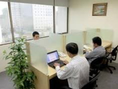 Cho thuê văn phòng nhỏ hoặc chỗ ngồi giá 500 nghìn/người/tháng. LH 0919408646