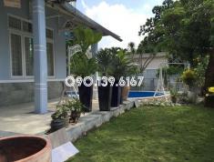 Villa sân rộng, hồ bơi 600m2, đường 44, Thảo Điền, giá 84 triệu/tháng