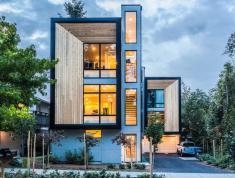 Bán nhà phố 5x20m, khu An Phú An Khánh, quận 2, đường thông thoáng. 0909817489