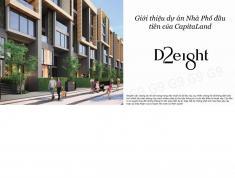 Capitaland, D2eight mở bán 28 căn nhà phố shophouse liền kề tại Q2 giá tốt. LH 0911.340.042