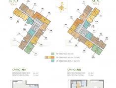 Bán gấp căn 2PN- Masteri AN Phú- 70m2- 2.98 tỷ ( đã gồm VAT+PBT). LH: Vy 0906626505