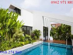 Cho thuê gấp villa đẹp ở đường 12, P. An Phú, Q2. Giá 105 triệu/tháng