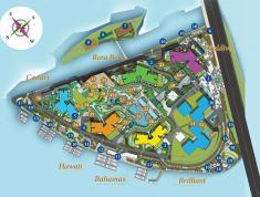 Bán căn hộ dual key B-17.02, tháp Bora Bora, Đảo Kim Cương, 142m2, view sông, 49 tr/m2 (có VAT)