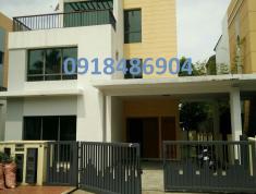 Bán nhà biệt thự 60 Giang Văn Minh, An Phú Quận 2, dt: 15x24m, thang máy 4pn,5wc, sổ. Giá 38 tỷ/tổng