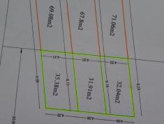 Lô đất mặt tiền đường số 6, P.Bình Trưng Đông,Quận 2.