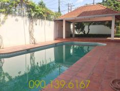 Villa sân vườn hồ bơi quận 2 cho thuê, diện tích 350m2, giá 63 triệu/tháng