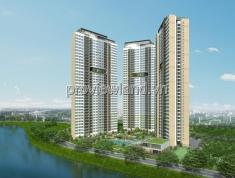 Chuyển công tác cần bán căn hộ Palm Heights, 85m2, 2 phòng ngủ, tầng cao, tháp T2