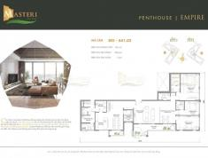 Mở bán Penthouse Masteri An Phú, tầm nhìn 360 về Q1, sông Sài Gòn, 45 tr/m2, CK 1%. PKD 0906626505