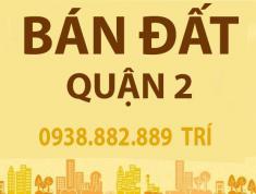 Bán đát Phú Nhuận 1 Thạnh Mỹ Lợi Q2, 7.1x19m, Tây Bắc, giá 78tr/m2, vị trí đẹp