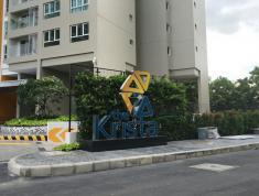 Cho thuê căn hộ The Krista Q2, (DT 75m2, 2 phòng, 2wc, có rèm, máy lạnh), 10 tr/th. LH 0918860304