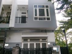 Cho thuê nhà Q.2, mặt tiền, 1 trệt + 2 lầu, 75m2, có chỗ để ô tô